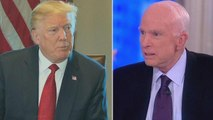 Senator John McCain Calls Out President Trump for Draft Deferment During Vietnam