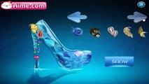 Juegos para Niñas - Diseñando la Zapatilla de Cristal de Elsa Frozen