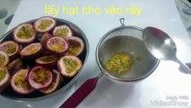 Cách làm Sữa chua dẻo - vị chanh dây lạ mà ngon