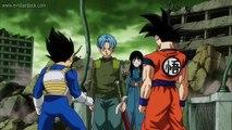 Trunks,Goku y Vegeta se preparan para enfrentar a Black - Dragon Ball Super audio latino [HD]