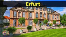Top Tourist Attractions Places To Visit In Germany | Erfurt Destination Spot - Tourism in Germany