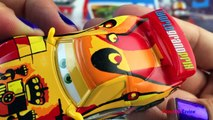 Unboxing Disney CARS part 1 - WGP Piston Cup Tuning Deluxe Radiator Springs unbox Miguel Camino