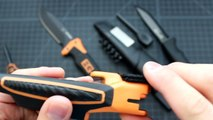 Gerber Bear Grylls Ultimate Pro Fixed Blade and Morakniv Bushcraft Survival Knife Comparison