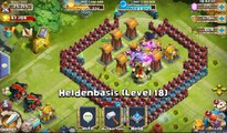 Schloss Konflikt/ castle clash: hbm Base Rathaus 17 und 18 für welle q, r, s