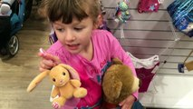 A FUN trip To Build A Bear for NEW Clothes + A stop at McDonalds | The Disney Toy Collector