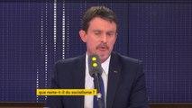 """""""Pour une partie de la gauche, il y a une fuite en avant par un retour en arrière"""" estime Manuel Valls #8h30Politique"""