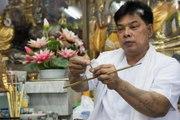World renowned Thai spiritual leader and tattoo master