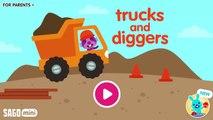 Fun Sago Mini Games - Kids All Set Sago Home Construction Building With Sago Mini Trucks & Diggers