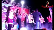 new telugu stage recording dance video, Gilrs group super dance performance