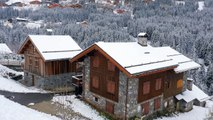 Les premiers flocons de la saison sont arrivés dans les Alpes