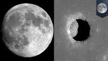 Penemuan gua bulan mungkin membawa manusia di pos terdepan bulan - TomoNews