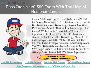 Free 1Z0-599 Practice Test Questions (PDF & Engine)