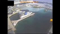 Messina, nave da crociera sbaglia manovra e travolge il porticciolo