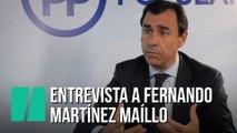 """""""Ya le gustaría a TV3 ejercer la televisión de la manera que lo hace TVE"""", entrevista a Fernando Martínez Maíllo"""