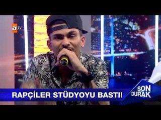 """Tahribad-ı İsyan - ATV Son Durak programı """"Suç Mu?"""" ve """"Pisliğiz"""" performansları - 14.6.2017"""