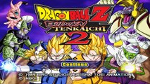 Dragon Ball Z: Budokai Tenkaichi 2 All Charers (HD) [PS2]