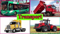Transportation Vehicles For Children Vehicles Phonic Song Learn Vehicles Names And Sounds