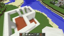 Minecraft: How To Build A Small Modern House Tutorial (#18