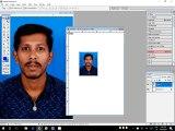 making passport size photos in photoshop,create Passport size Photo in adobe Photoshop
