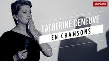Catherine Deneuve en chansons