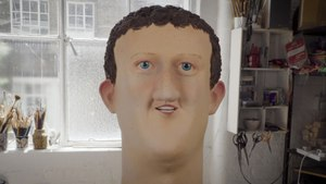 The Sculptor Who Makes Oversized Heads