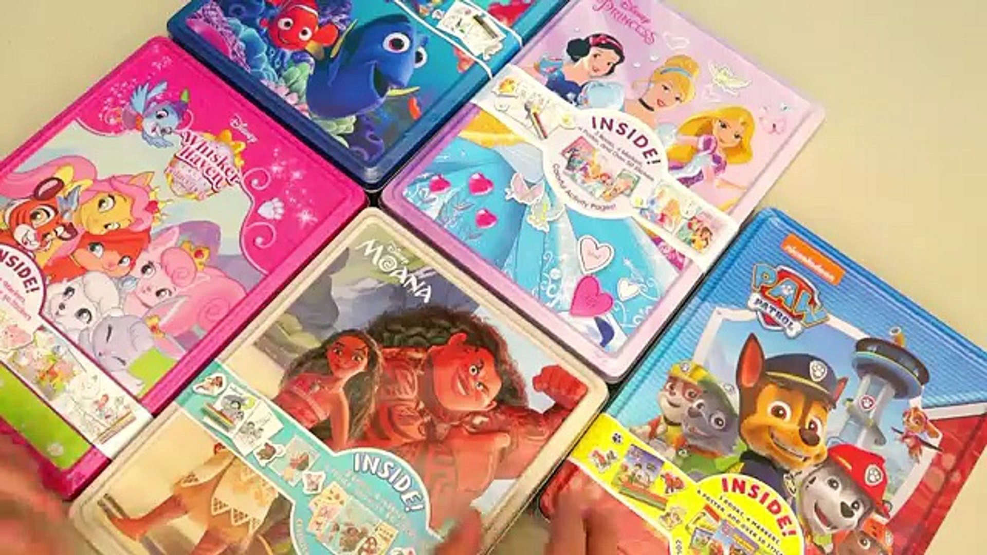 Juguetes En Español Para Colorear De Princesas Disney Patrulla Canina Moana Y Buscando A Dory