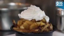 Apple Pie Fries? Pizza Fries? The American Poutine Co. offers expanded poutine cuisine
