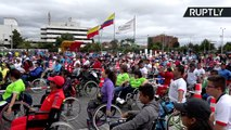 Hundreds Attempt to Break World Record for Longest Physical Activity on Wheelchairs