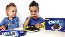OREO CHALLENGE! ОРЕО ЧЕЛЛЕНДЖ! Вызов Принят ! Челлендж печенье ОРЕО для Детей ! ОРЕО ВЫЗОВ !