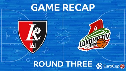 7Days EuroCup Highlights Regular Season, Round 3: Rytas 85-93 Lokomotiv