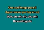 Cristian Castro - Agua Nueva (Karaoke)