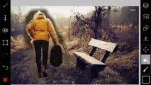 PicsArt Editing Tutorial | Alone girl, background change/stylish