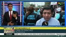 Perú: trabajadores exigen mejoras laborales con paro de 24 horas