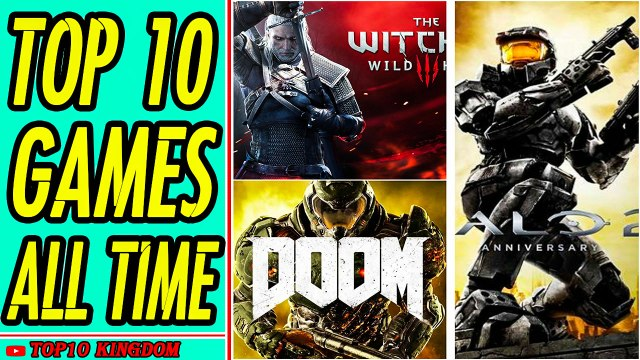 TOP 10 Best Video Games Of All Time