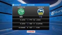 Basket - Eurocoupe (H) : Le CSP Limoges s'incline à domicile contre Berlin