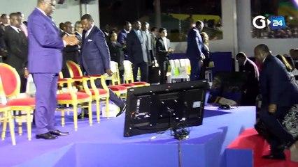 Inauguration du nouveau Port d'Owendo
