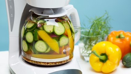 PSA: You Can Make Pickles in Your Coffee Maker