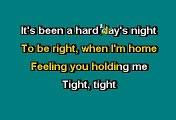 THE BEATLES - A HARD DAY'S NIGHT (KARAOKE)