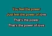 The Power Of Love - Huey Lewis And The News (Karaoke)