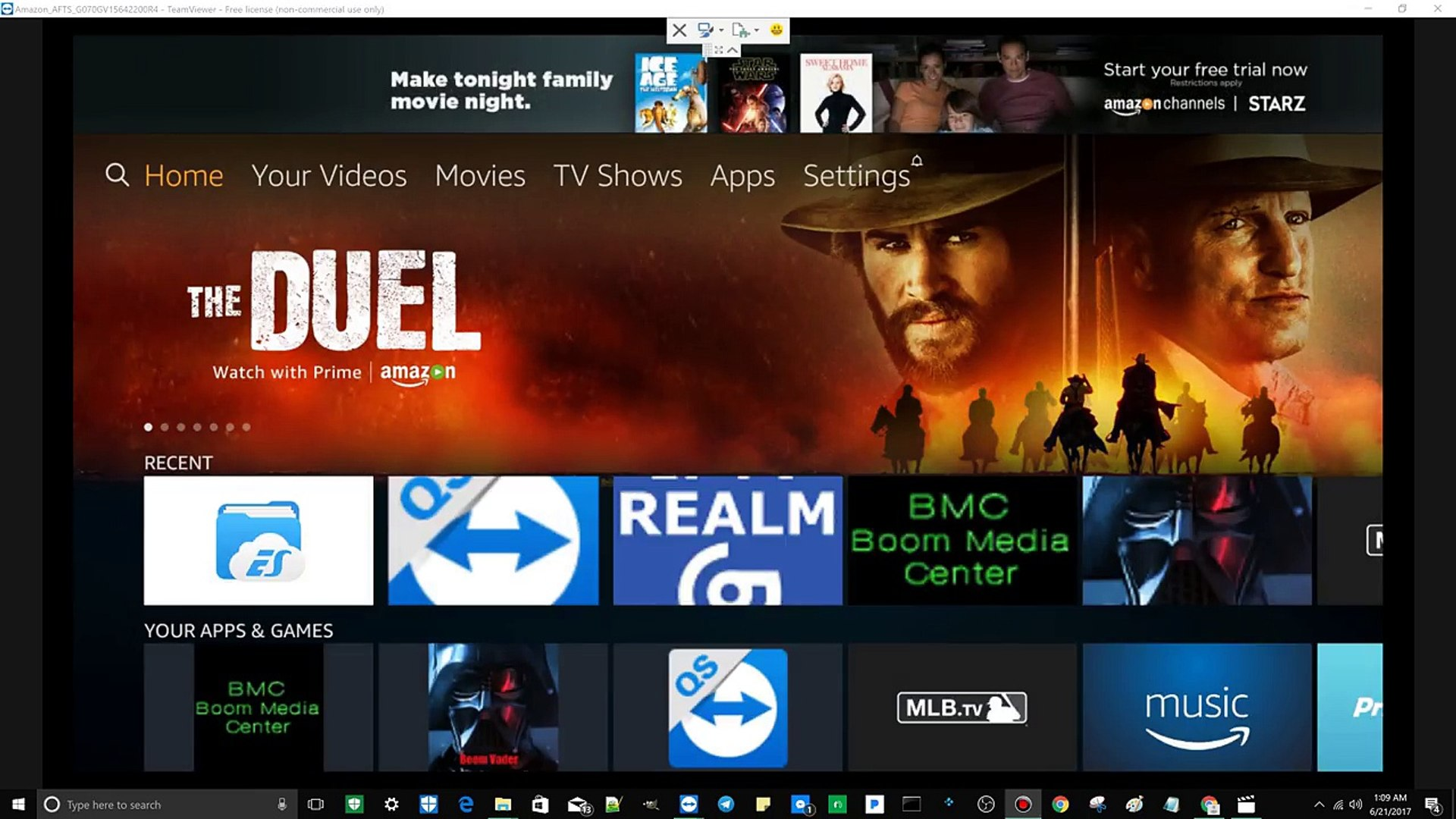 How TO Download New IPTV Realm APK App For Android Amazon TV or Fire TV  Using ES FIle Explorer