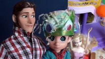 Anna and Elsa Easter Egg Hunt Easter Hat Parade #1 Anna and Elsa Toddlers Preschool Toys In Action