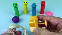 Learn Colours With Play Dough Baby Toys With Molds Fun and Creative for Kids and Children