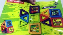 Magformers Teenage Mutant Ninja Turtles 18 pcs Magnetic Blocks TMNT || Keiths Toy Box