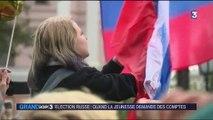 Élection russe : quand la jeunesse demande des comptes