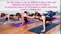 Hatha Yoga Explained