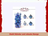 Tianliang04 Weihnachtsbaum Christmas Ball Bright Ball 24 Painted Ball Packages Christmas