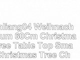 Tianliang04 Weihnachtsbaum 60Cm Christmas Tree Table Top Small Christmas Tree Christmas