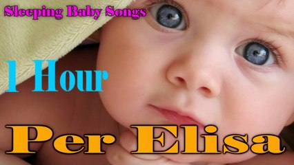 Salvatore Marletta - 1 hour Per Elisa Lullaby to Put a Baby to Sleep - Calming Piano Songs