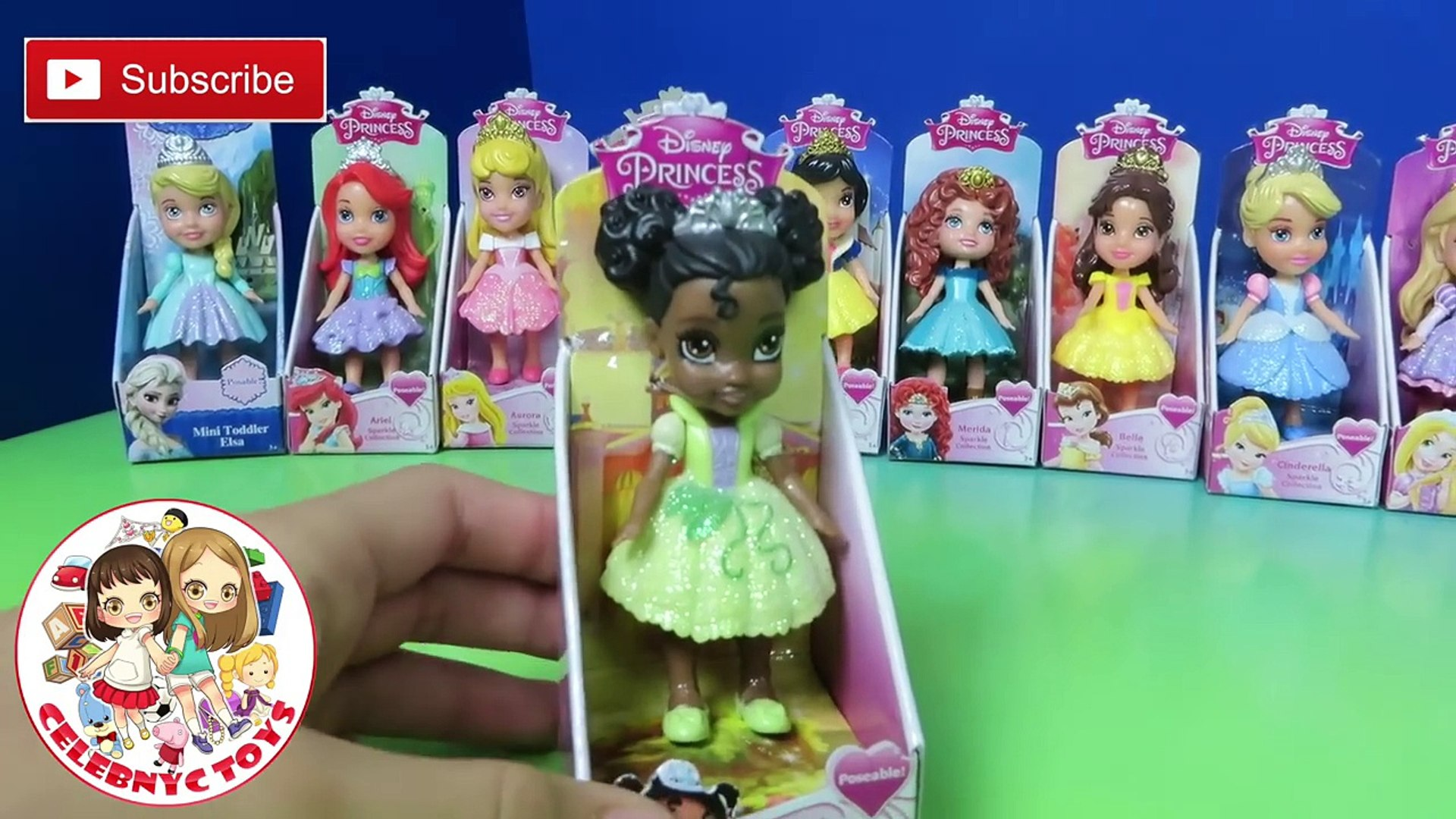 "Original Mini Toddler Doll New 3/"" Disney Princess Merida My First"