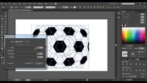 How to draw a soccer ball in Adobe illustrator / lessons Adobe illustrator / Julia Rose